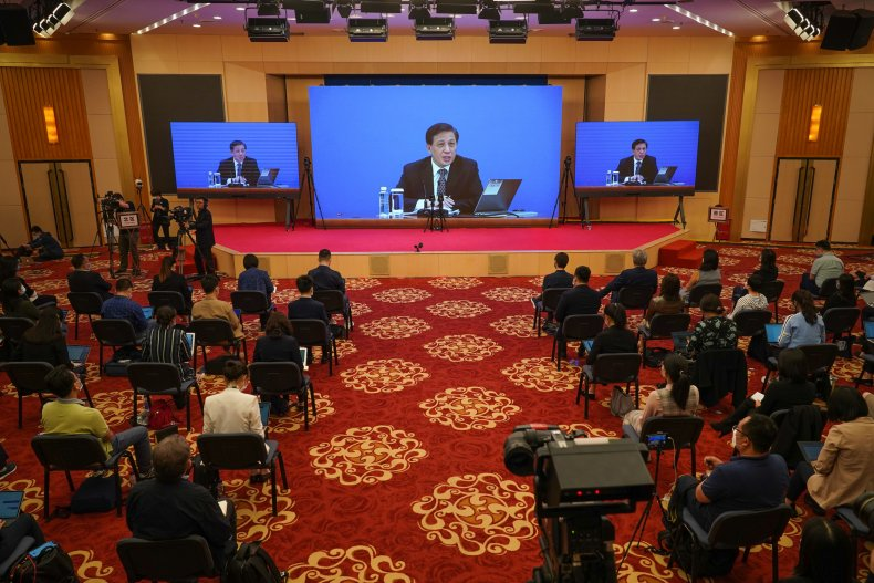 China's National People's Congress (NPC) Holds Press Conference
