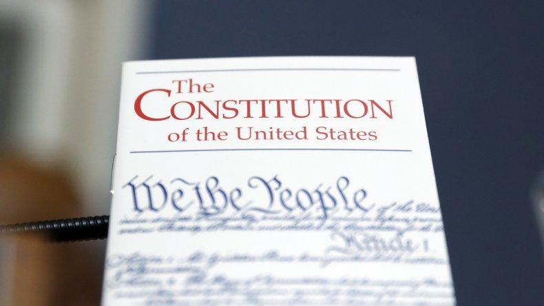 U.S. Constitution on display in Congress