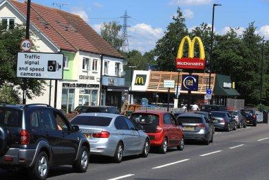 McDonald's COVID-19 lockdown