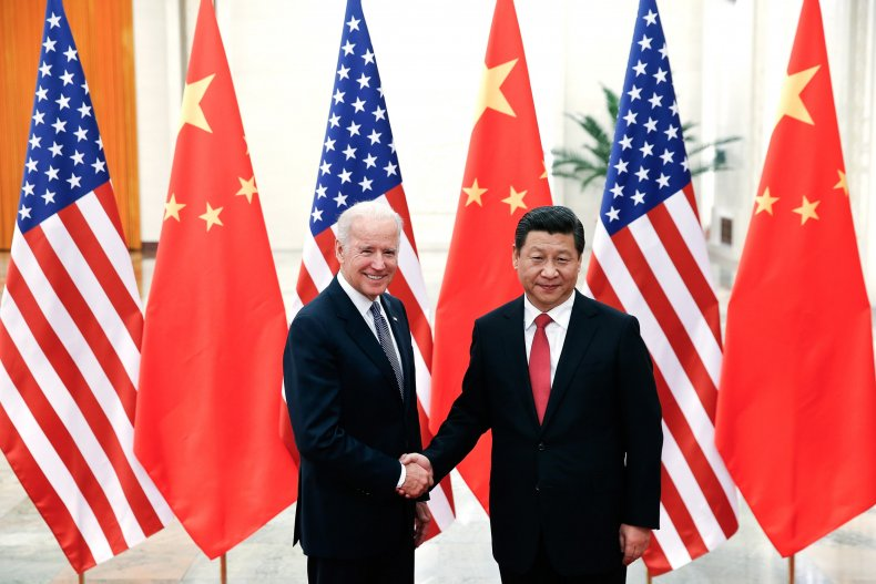 Joe Biden and President Xi Jinping