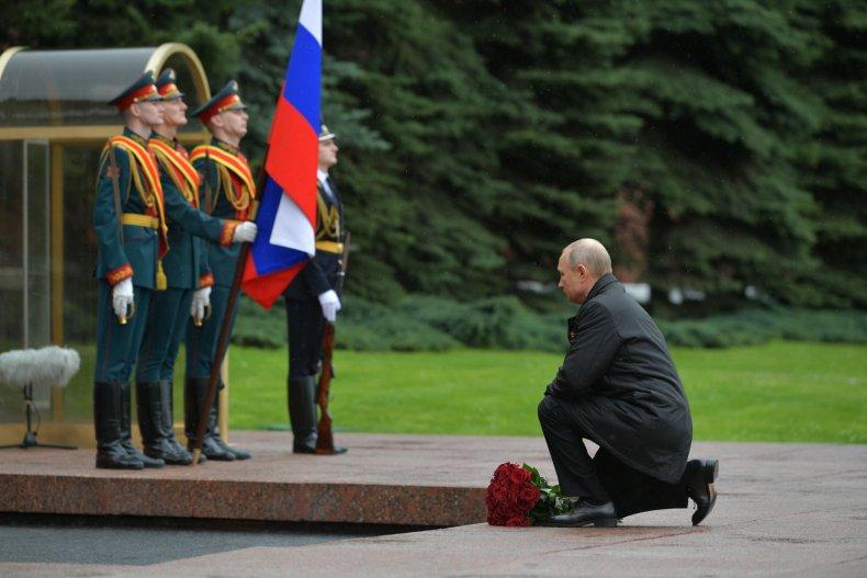 Vladimir Putin, Moscow, WWII ceremony, May 2020