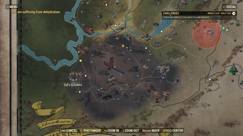 fallout 76 treasure hunter ash heap