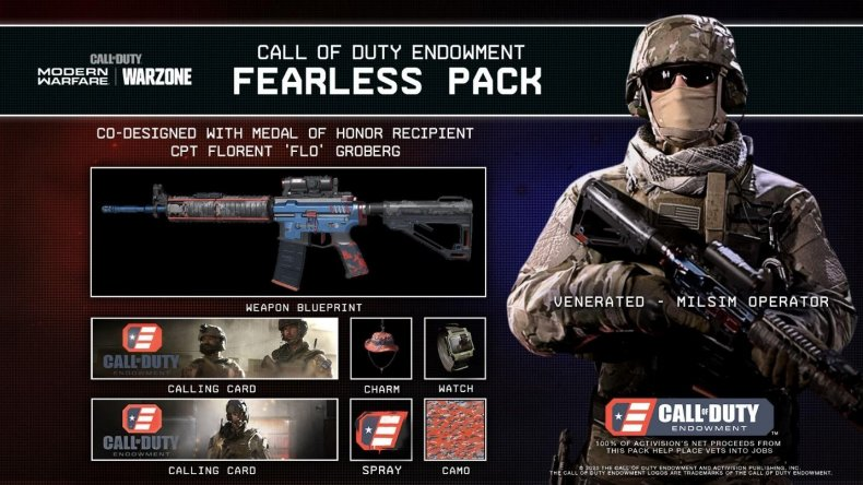 call of duty endowment fearless pack store