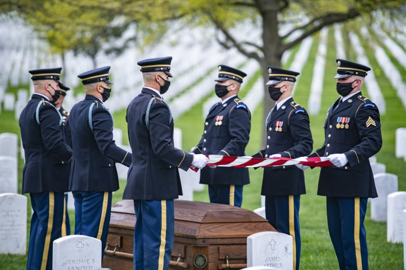 Nearly 1,000 Funerals at Arlington Have Been Canceled Because of Coronavirus