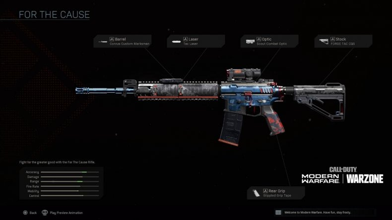 call of duty warzone fearless endowment pack
