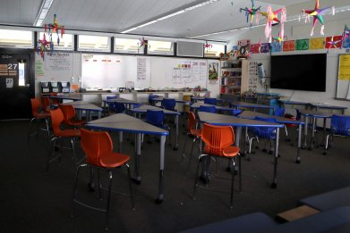 Classroom public school coronavirus