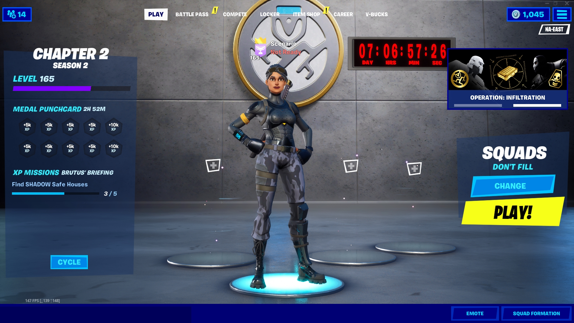 Fortnite Season 2 Doomsday Live Event Countdown Timer Date
