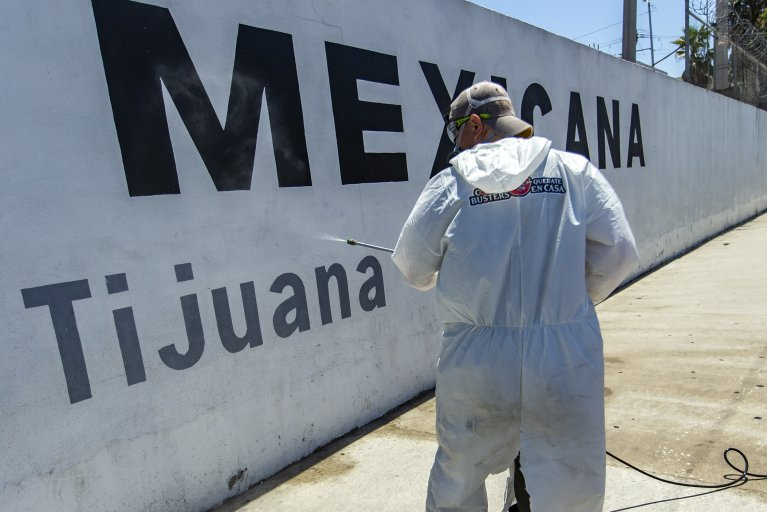 tijuana mexico coronavirus cases border