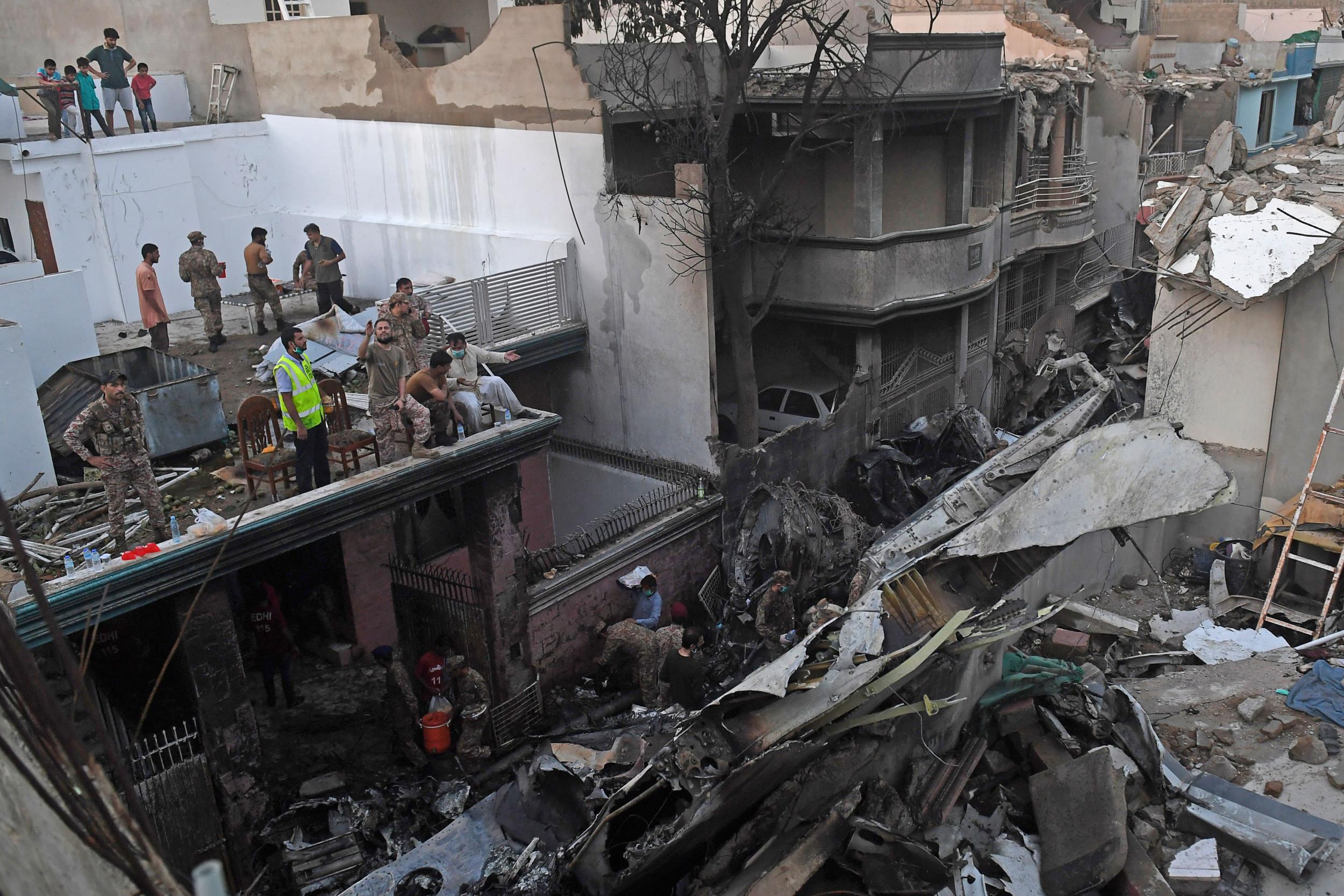 Survivor Of Pakistan Airline Crash Recalls Last Moments Of Doomed Flight I Heard People Crying Children Crying
