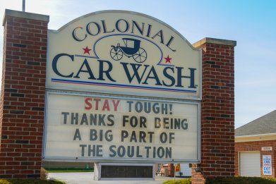 Michigan Car Wash, coronavirus
