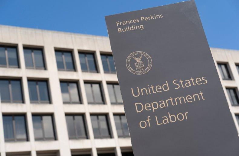 Department of Labor building in Washington, D.C.