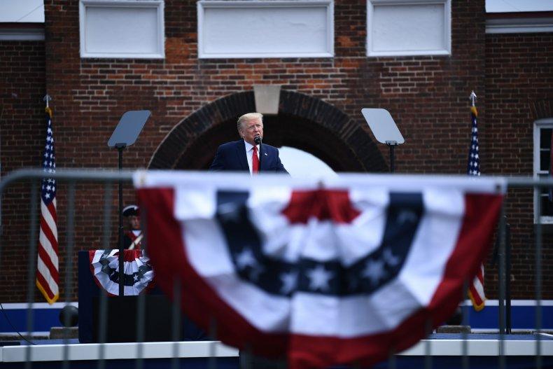 Donald Trump Memorial Day weekend