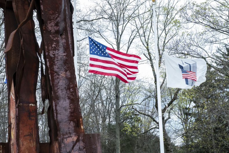 Flag at half-mast in New Jersey