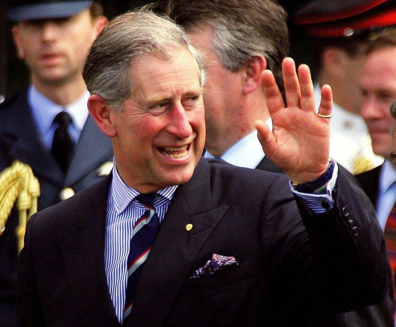 Prince Charles Visits Sydney Opera House