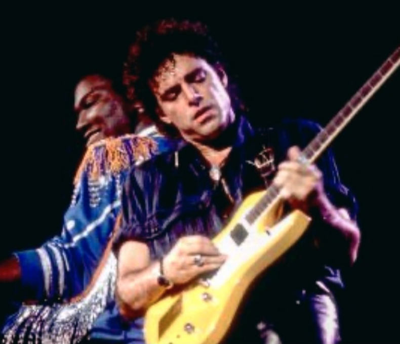 Randy Jackson and Neal Schon