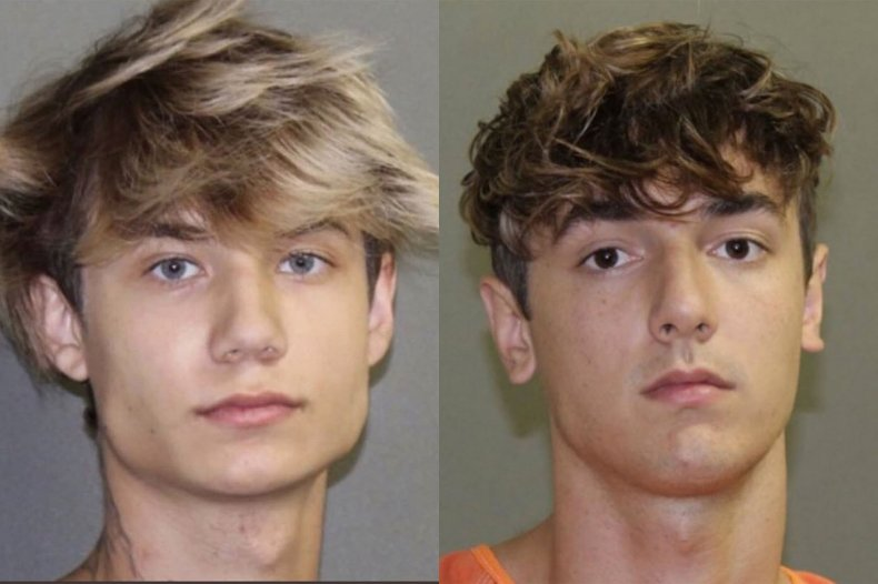 bryce hall jaden hossler arrested texas tiktok