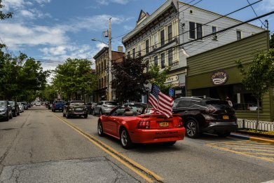Memorial Day Convoy Rolls Through New York State To Honor Veterans