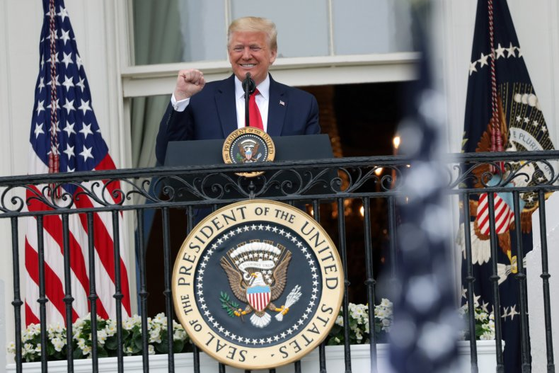 President Trump Hosts 'Rolling To Remember' Ceremony Honoring Veterans For Memorial Day