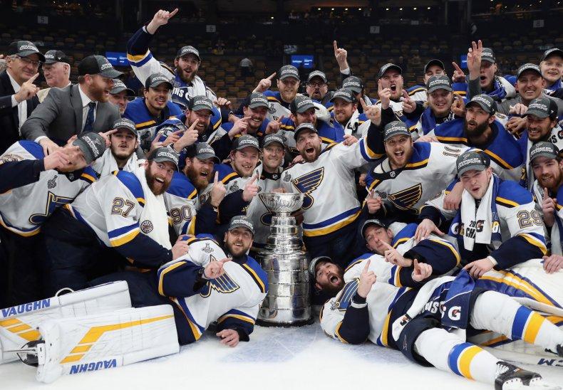 St. Louis Blues, Stanley Cup Final
