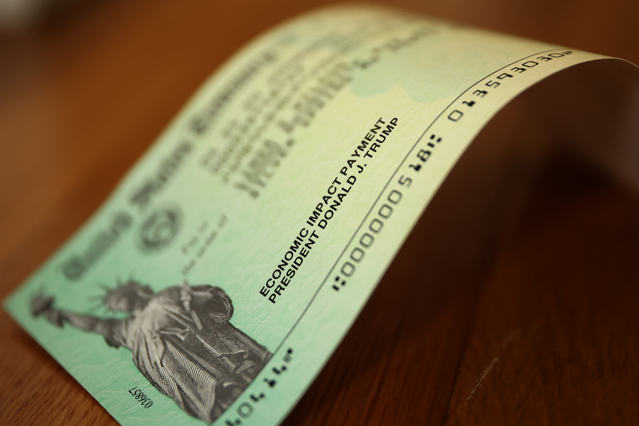 A Wisconsin man received a stimulus check for $5.60 rather than the full $1,200