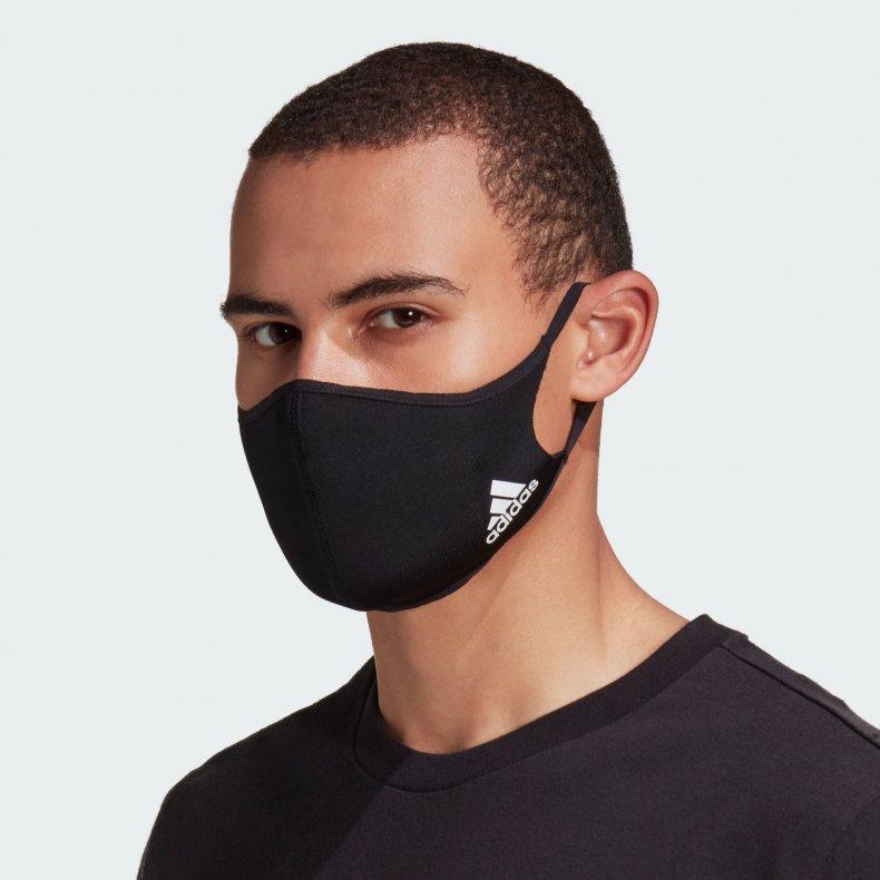 Adidas Face Mask Press Image
