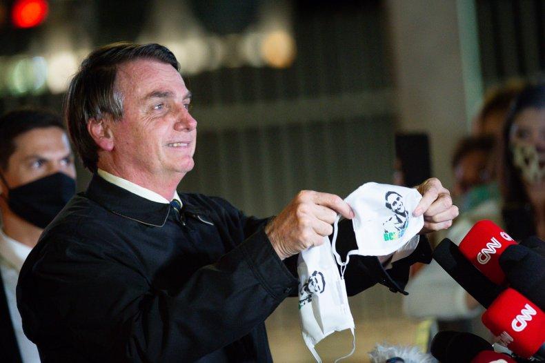 President of Brazil Jair Bolsonaro