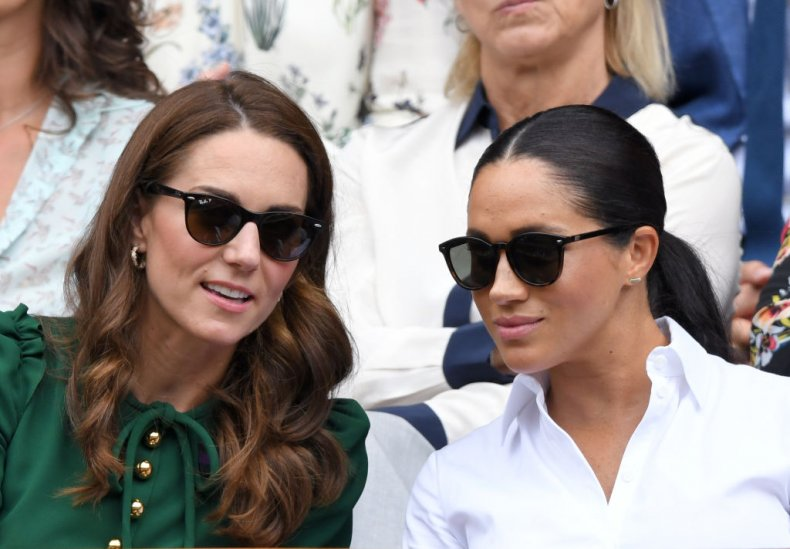 Kate Middleton and Meghan Markle, Wimbledon Tennis