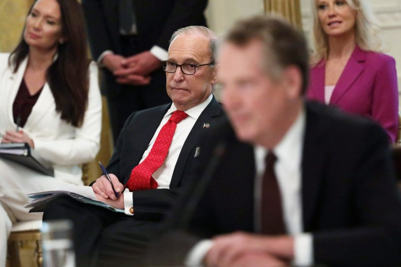 Larry Kudlow considering return to work bonus