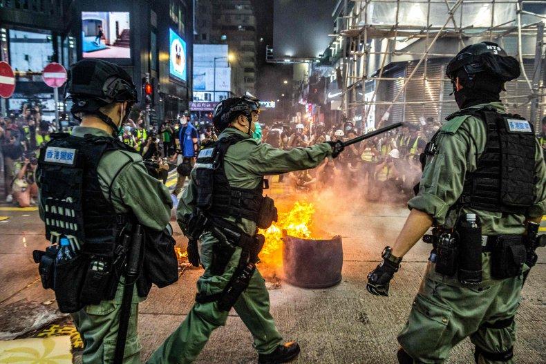 china, hong, kong, protests, security, bill