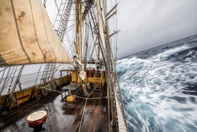 Bark Europa Tall Ship