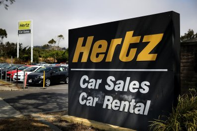 Hertz, San Francisco, California, August 2017