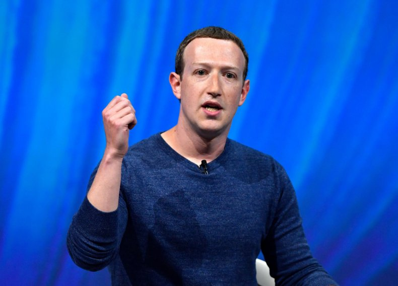 Facebook's CEO Mark Zuckerberg