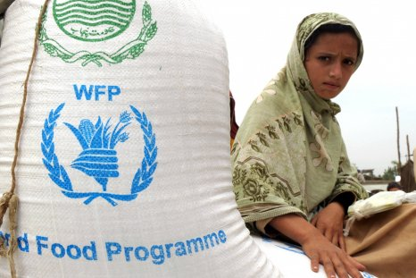World Food Program with supplies