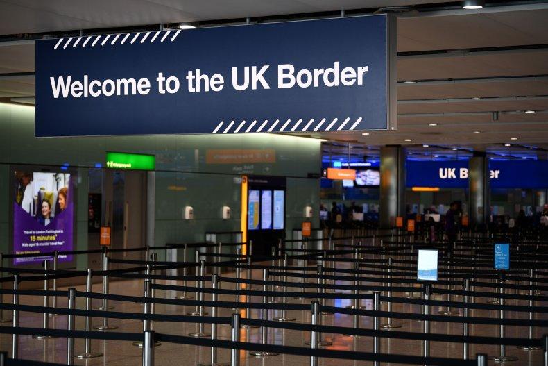 U.K. border force