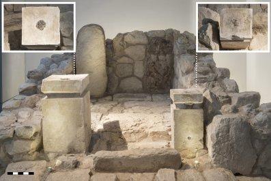 ancient Israeli shrine