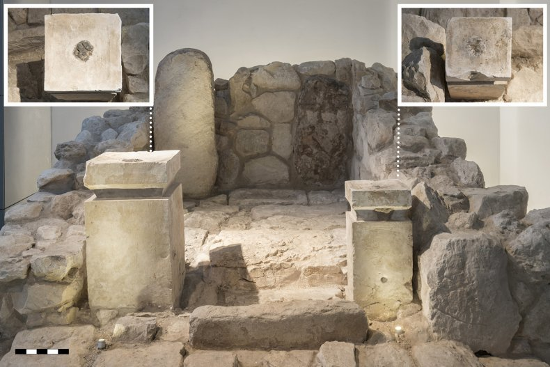 ancient Israeli shrine