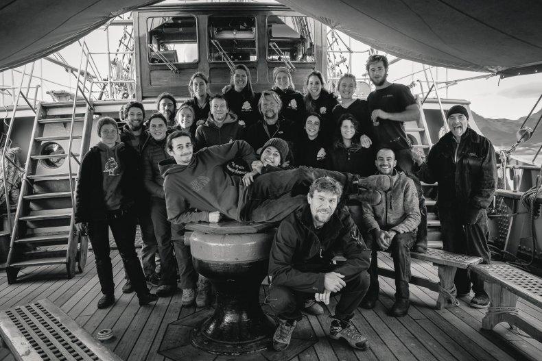 The Bark Europa Crew