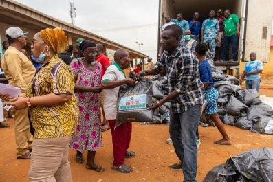 Food relief in Nigeria amidst coronavirus