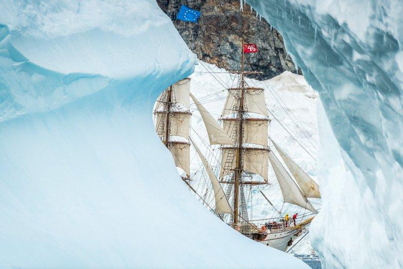 Bark Europa Antarctica Sail