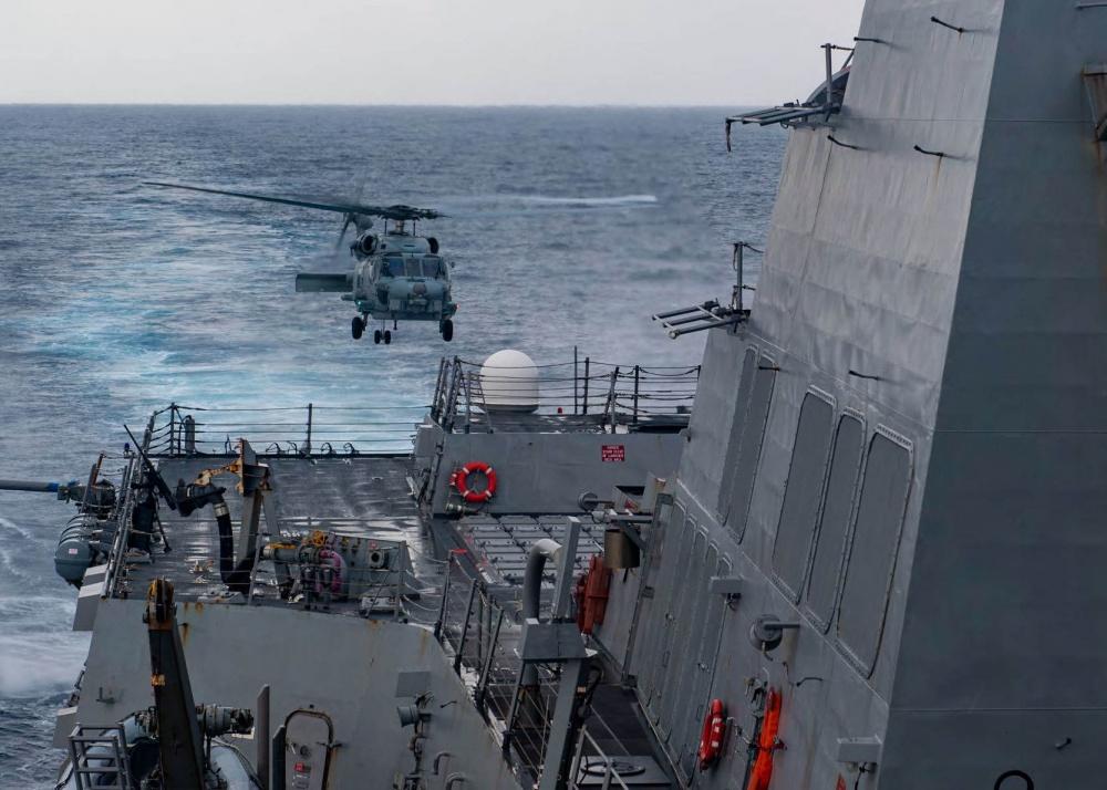 U.S. Warns That China`s Expulsion of Navy Near...