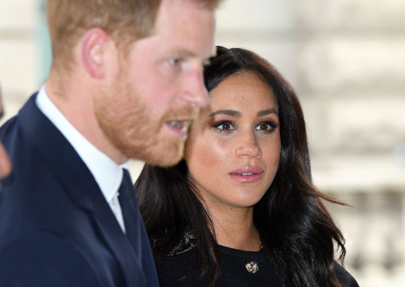 Prince Harry and Meghan Markle Christchurch