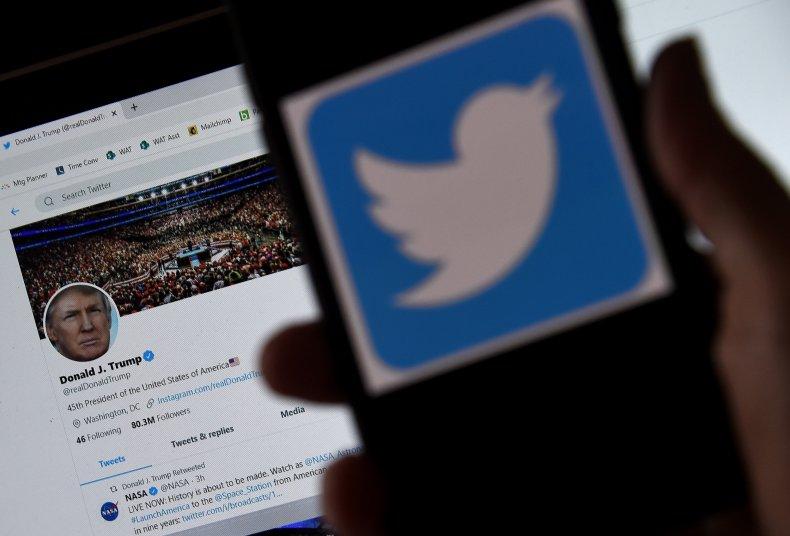 twitter flags trump tweet glorifying violence