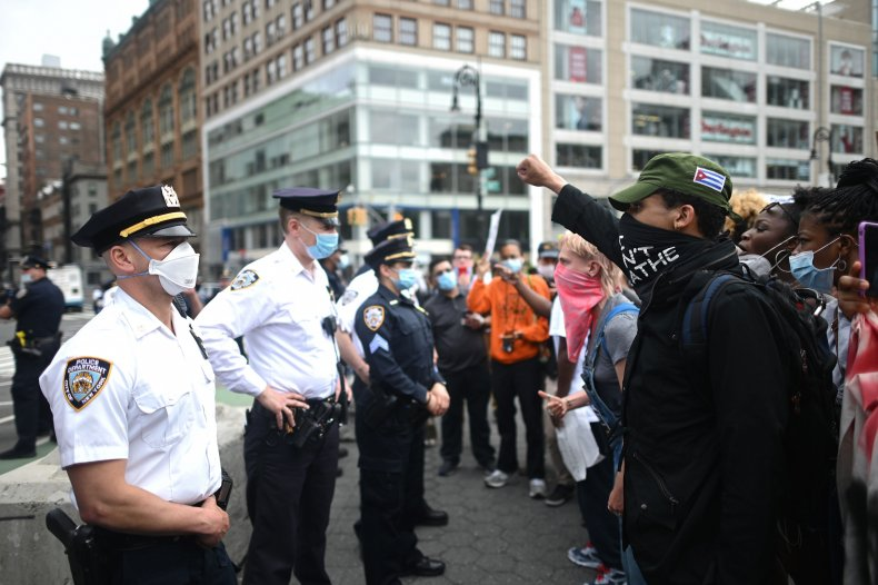 US-POLICE-RACISM-PROTEST-DEMONSTRATION
