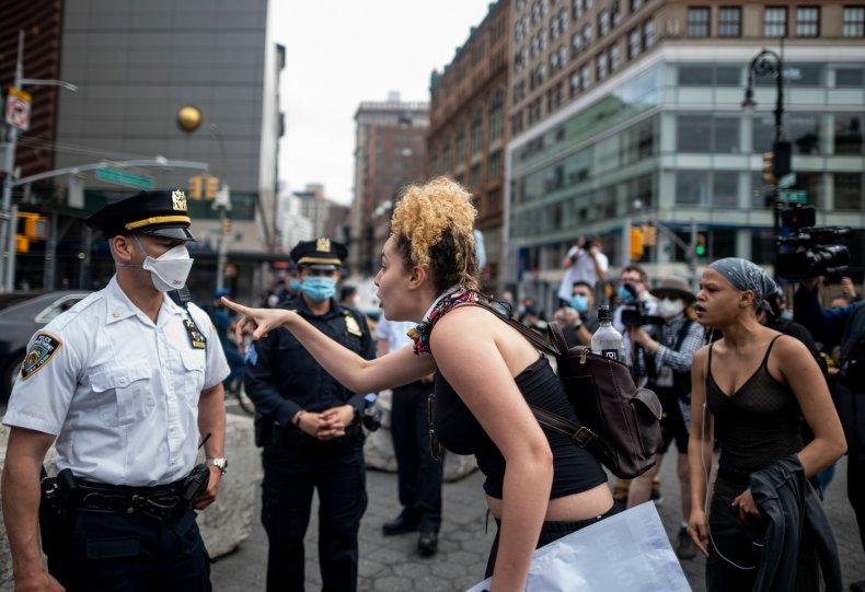 TOPSHOT-US-POLICE-RACISM-PROTEST-DEMONSTRATION