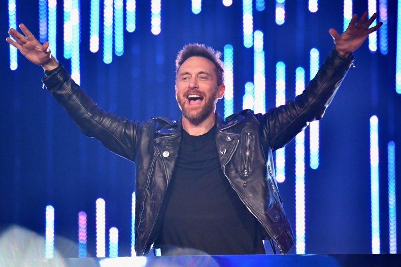 David Guetta deejay concert