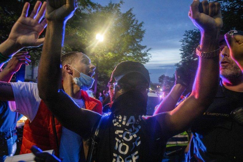 George Floyd Protest in Washington, D.C.
