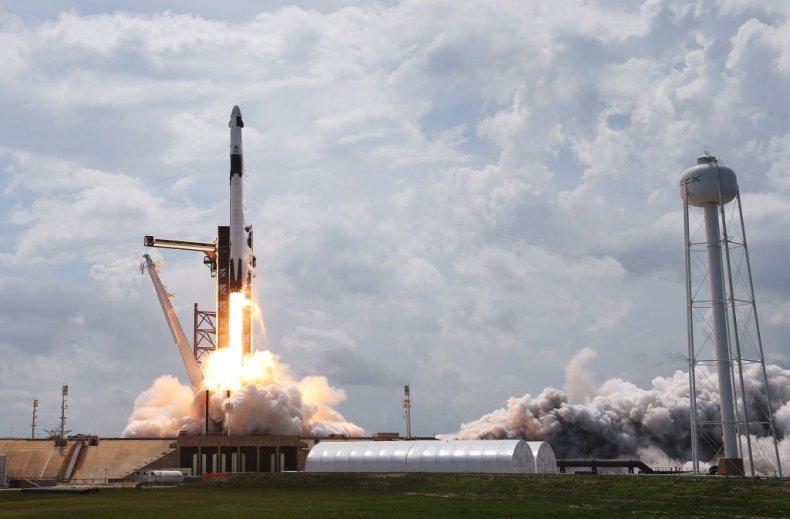 NASA/SpaceX launch
