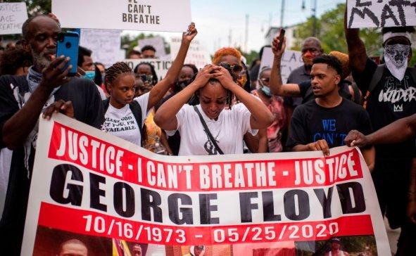 George Floyd protest Texas