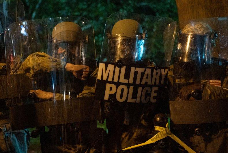 military police protests civil disturbance george floyd