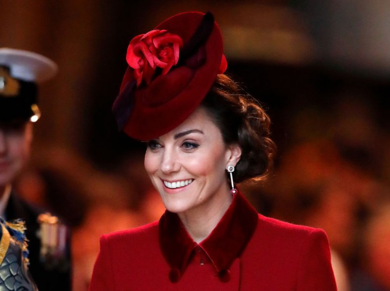 Kate Middleton Attends Commonwealth Day Service